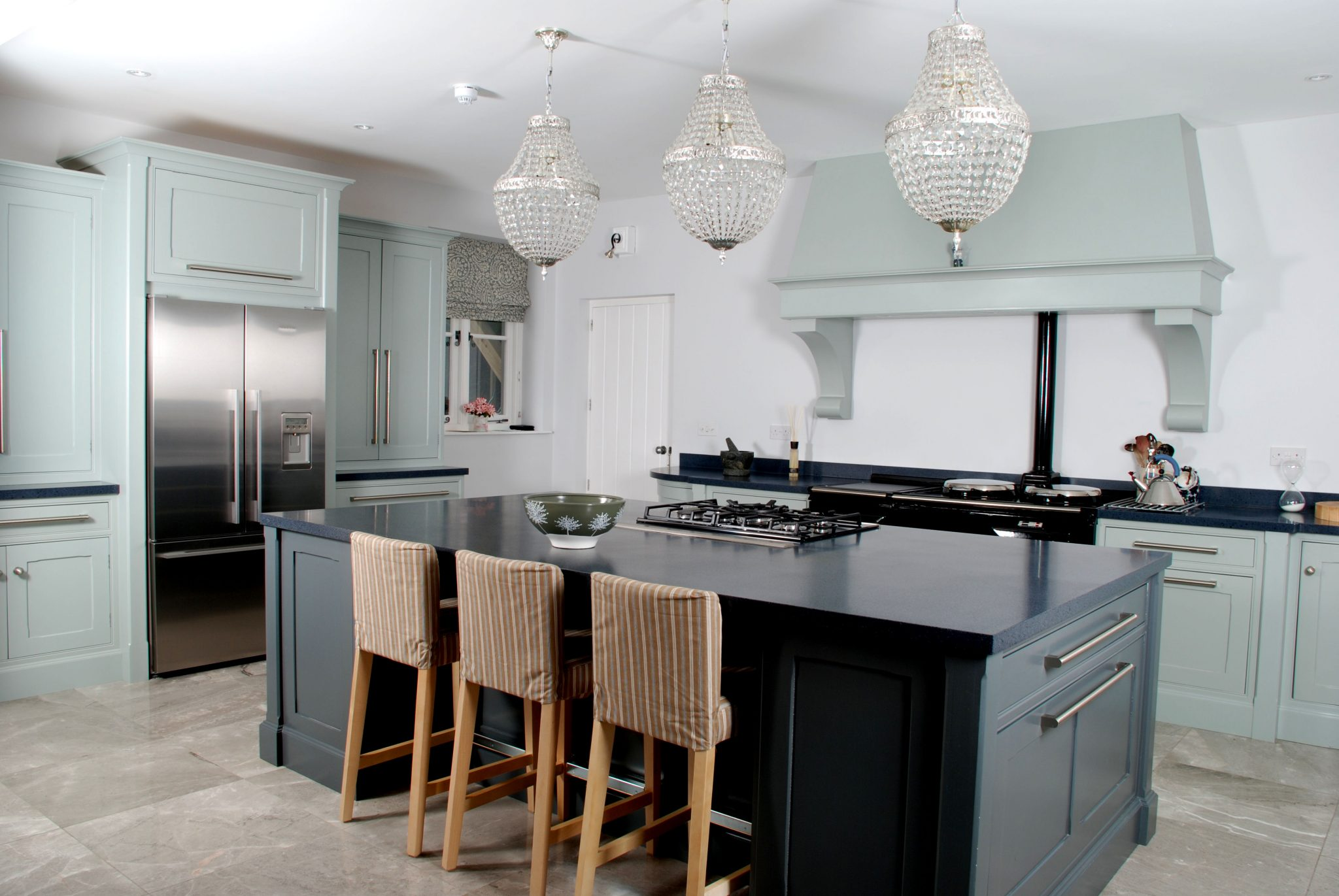 teal Blue grey Kitchen design | McGowan Brooks | Northern Ireland & Republic of Ireland